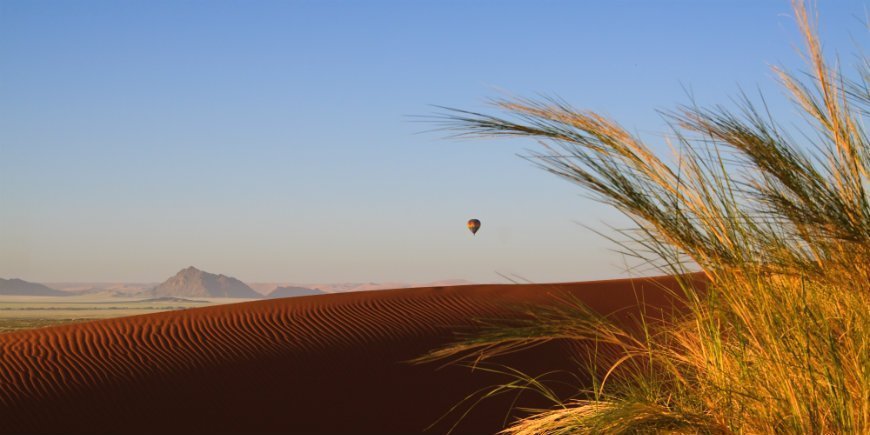 Balloon safari Namibia