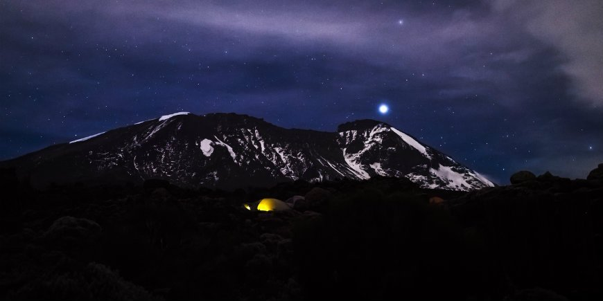 Night on Kilimanjaro